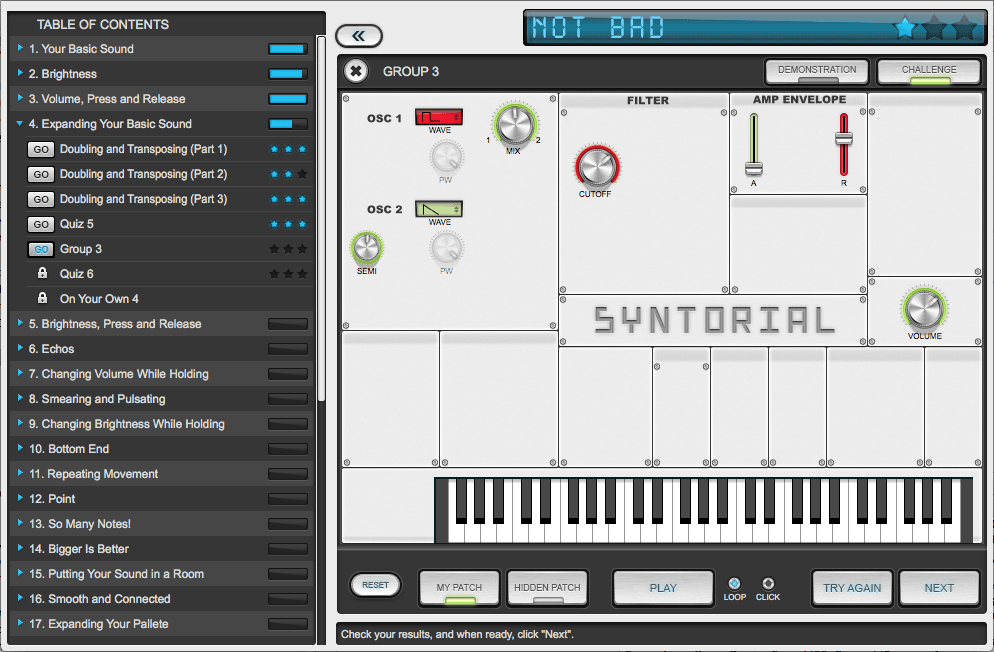 Syntorial Synth Patch Screenshot